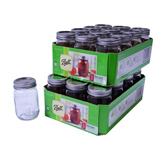 Ball 16-oz/ Pint Mason Jars (Set of 24)