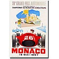 George Ham, 'Monaco 1957 II' Gallery-wrapped Art Print