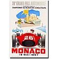 George Ham, 'Monaco 1957 II' Gallery-wrapped Art Print