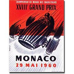 George Ham 'Monaco 1960' Gallery-wrapped Art