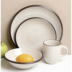 Red Vanilla Hampshire Cream 16-piece Dinnerware Set
