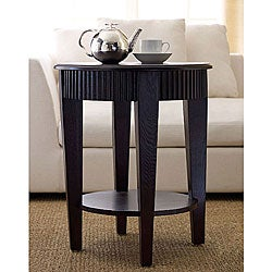 Abbyson Living Morgan Round Tea End Table