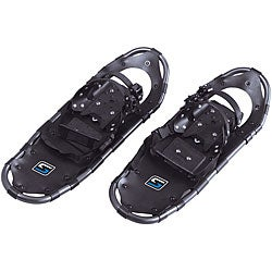 Medium Swagman Black Lightweight Aluminum/Rubber Proform Snowshoes