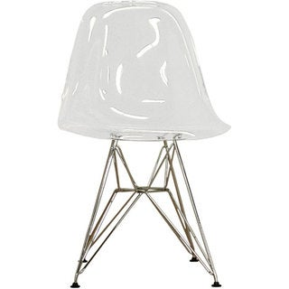 Vince Clear Shell Chairs (Set of 2)
