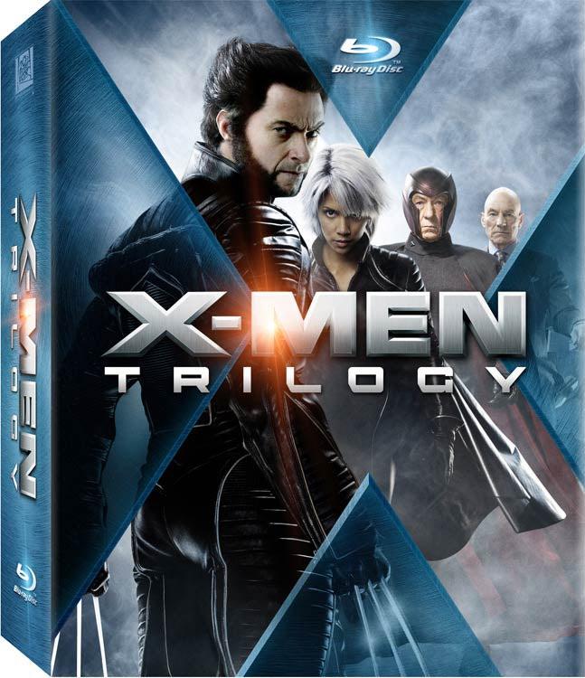 X-Men Trilogy (Blu-ray Disc)