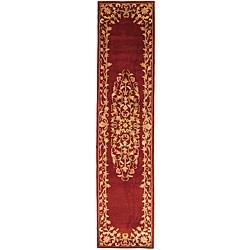 Safavieh Handmade Heritage Red Wool Runner (2'3 x 14')