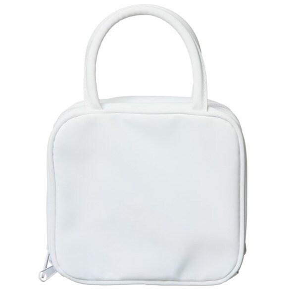 Isabella Rossellini White Cosmetics Travel Bag