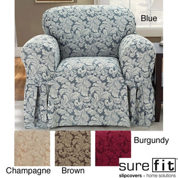 Scroll Chair Slipcover