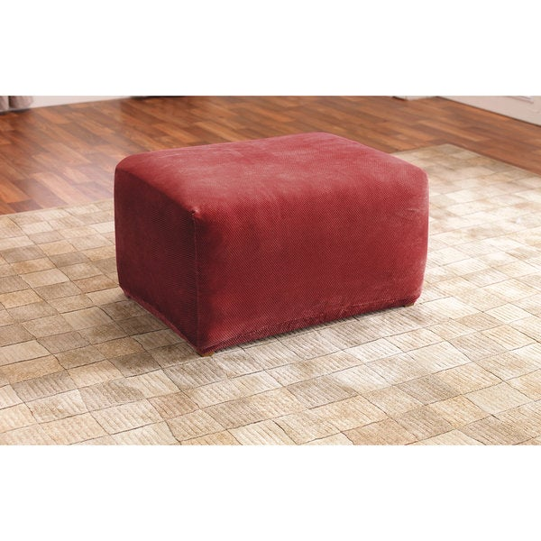 large rectangular ottoman slipcover 2
