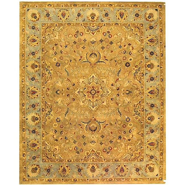 Safavieh Handmade Classic Heirloom Beige Wool Rug (9'6 x 13'6)