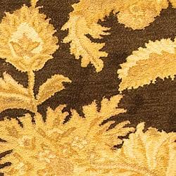 Safavieh Handmade Classic Paisley Brown Wool Runner (2'3 x 12')