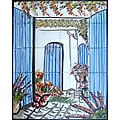 'Welcome Atmosphere' 20-tile Ceramic Wall Mural
