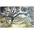 'Old Country Landscape' 40-tile Ceramic Wall Mural