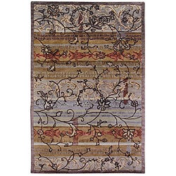Hand-tufted Bohemia Wool Rug (8' x 11')