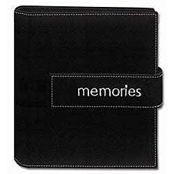 Pioneer Photo 4x6 Hook-and-loop Strap Photo Albums (Pack of 2)
