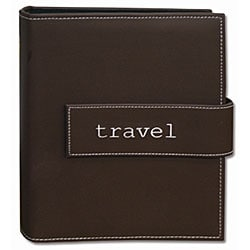 "Pioneer Photo Brown 4""x 6"" Magnetic-Strap Photo Albums (Pack of Two)"