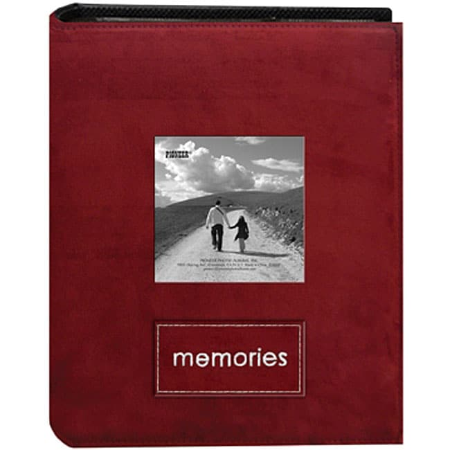 Pioneer Photo 4x6 Faux Suede Albums (Pack of 2)