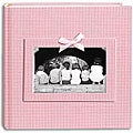 Pioneer 200-pocket Gingham Photo Album (Pack of 2)