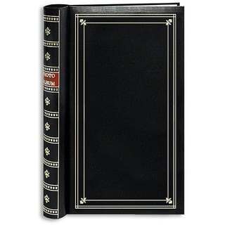Pioneer Black Cover Metal Coilbound Bi-directional Memo Albums (Pack of 2)