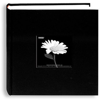 Pioneer Fabric Frame Cover Black Bi-directional Memo Albums (Pack of 2)