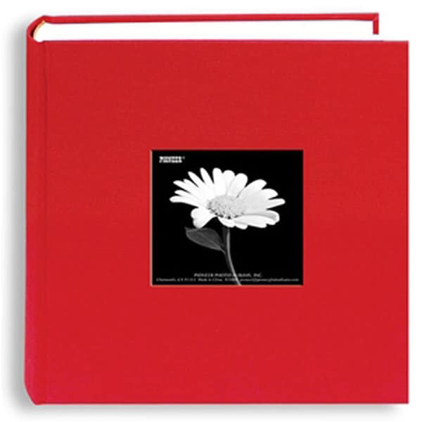 Pioneer 200-Pocket 4x6 Red Photo Album (Pack of Two)