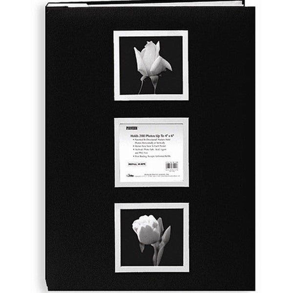 Pioneer Photo Albums 200-pocket Photo Album with 60 Bonus Pockets