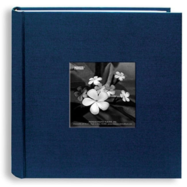 pioneer photo navy blue lagoon silk 4x6 albums pack of 2 overstock shopping big discounts. Black Bedroom Furniture Sets. Home Design Ideas