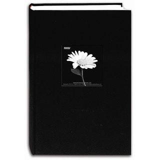 Pioneer Fabric Frame Cover Deep Black Bi-directional Memo Albums (Pack of 2)