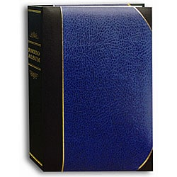 Pioneer Navy Blue/ Black Ledger Cover Bi-directional Memo Albums (Pack of 2)