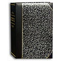 Pioneer Silver Marble Ledger Cover Bi-directional Memo Albums (Pack of 2)