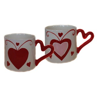 My Sweet Heart Hand-painted 2-piece Mug Set