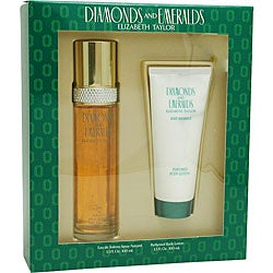 Elizabeth Taylor Diamonds and Emeralds Women's 2-piece Gift Set