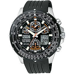 Citizen Eco-Drive Skyhawk A-T Men's Rubber Strap Watch