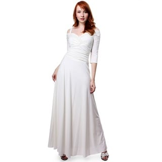 Evanese Women's Elegant Long Dress