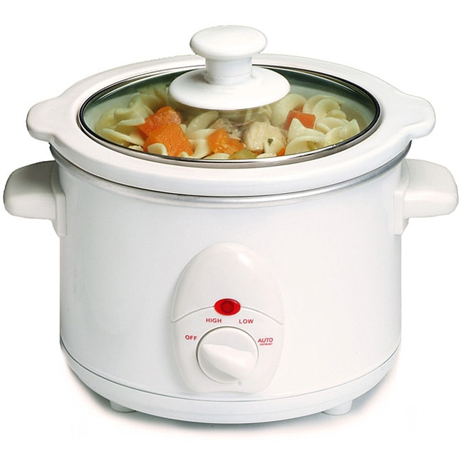 Electric 1.5-quart Stoneware Slow Cooker