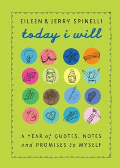 Today I Will: A Year of Quotes, Notes, and Promises to Myself (Hardcover)