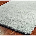 Plush Super Dense Hand-woven Light Blue Premium Shag Rug (5' x 8')