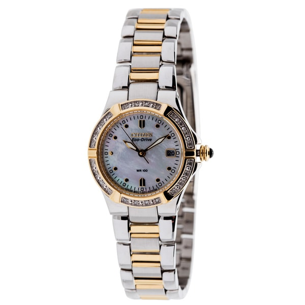 Citizen Eco-Drive 'Riva' Women's Diamond Watch