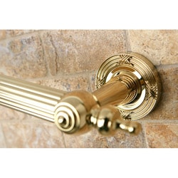 Templeton Luxury 12-inch Polished Brass Grab Bar