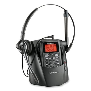 Plantronics CT14 DECT 6.0 1.90 GHz Standard Phone - Black