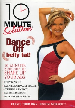 10 Minute Solutions: Dance Off Belly Fat (DVD)