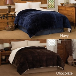 Micro Mink Hypoallergenic Reversible Down Alternative Cozy Comforter