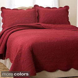 French Tile 3-piece Quilt Set