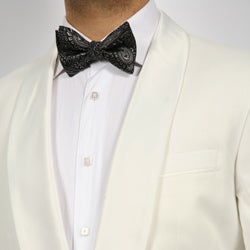 Ferrecci Men's White Shawl Collar Dinner Jacket
