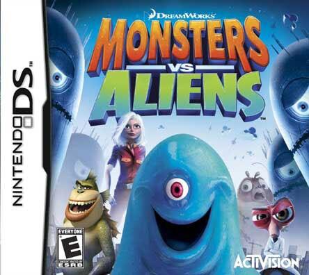 Nintendo DS - Monsters vs. Aliens