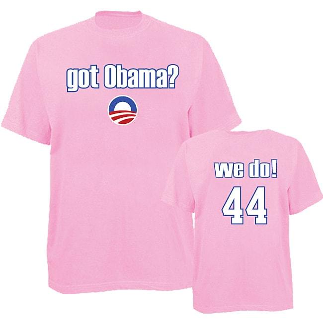 Men's 'Got Obama?' Pink T-shirt