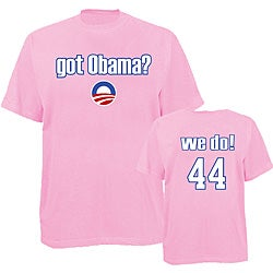 Men's 'Got Obama?' Pink T-shirt