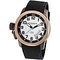 Akribos XXIV Men's Swiss Quartz Date Canteen Top Watch