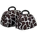 Luca Vergani Giraffe 2-piece Cosmetic Case Set