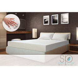 Sarah Peyton Soft Support 10-inch Full-size Memory Foam Mattress and Bonus Pillow Set